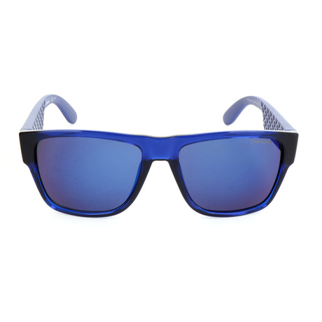 Unisex 5002 Sunglasses // Blue Metal + Matte Blue