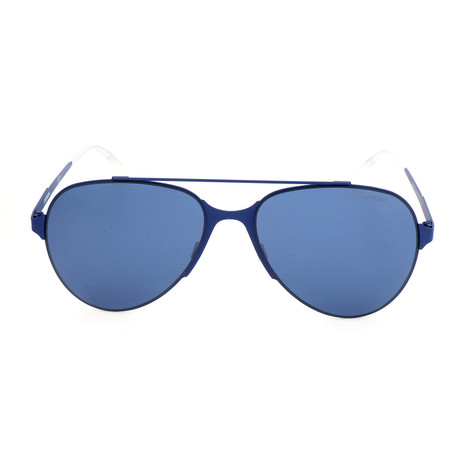 Unisex 113S Sunglasses // Blue Matte