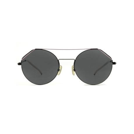 Fendi Men's Sunglasses // Dark Gray + Gray Blue
