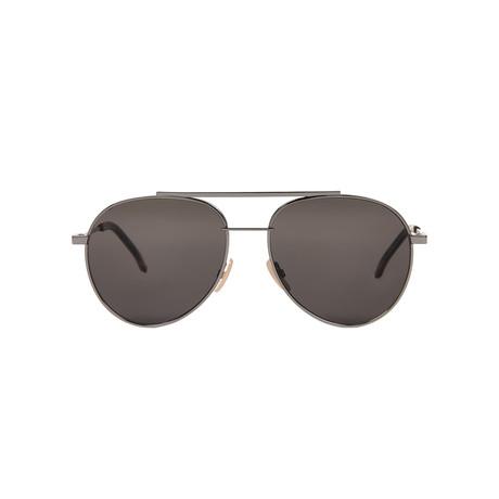 Fendi Unisex Sunglasses // Silver + Gray