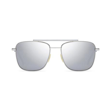 Fendi Men's Sunglasses // Palladium + Black