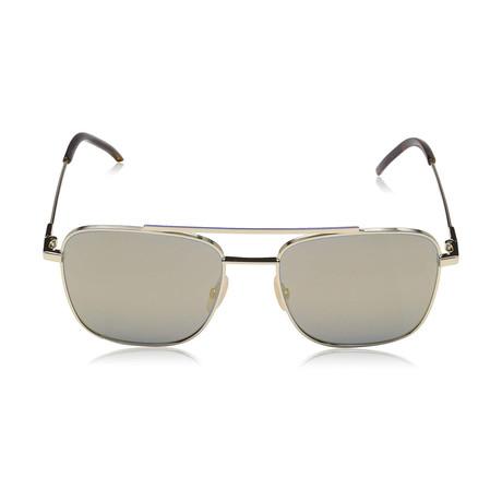 Fendi Men's Sunglasses // Gold + Gray Bronze