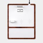 Wireless Quad Tray // White (Lightning)