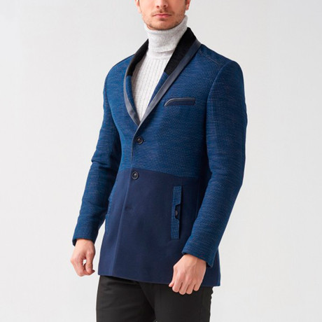 Declan Coat // Dark Blue (Euro: 46)