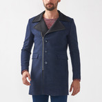 John Wool Coat // Dark Blue (Euro: 46)