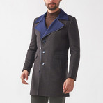 Sebastian Wool Coat // Charcoal (Euro: 52)