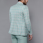 Jeremy 3-Piece Slim Fit Suit // Green (Euro: 42)