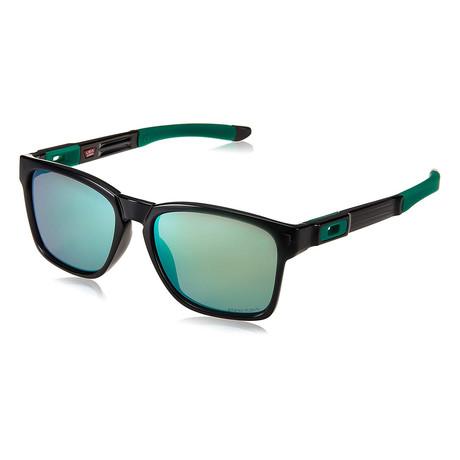 Unisex Catalyst Sunglasses // Black + Jade