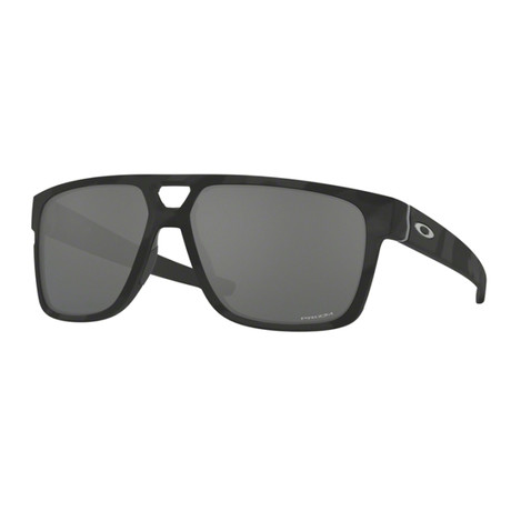 Men's Crossrange Patch Sunglasses // Black Camouflage