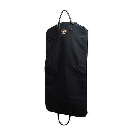 Gianni Versace // Medusa Garment Bag // Black