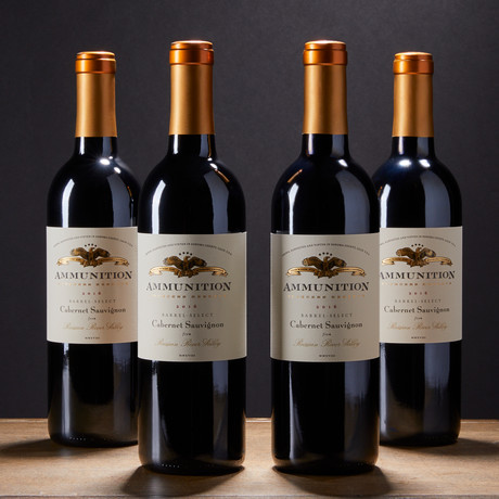 Ammunition Wine // 2016 Founder's Reserve Cabernet Sauvignon // Set of 4