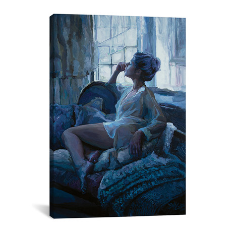 """Eleanor And The Window (12""""W x 18""""H x 0.75""""D)"""