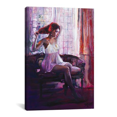 """Portrait Of Dahlia (12""""W x 18""""H x 0.75""""D)"""