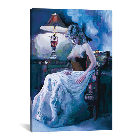 """Captured By Lamplight (12""""W x 18""""H x 0.75""""D)"""