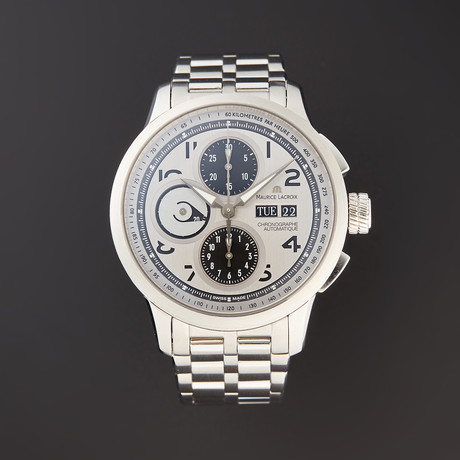 Maurice Lacroix Masterpiece Masterchronograph Automatic // MP6348-SS002-12E // Pre-Owned