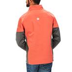 Men's Discovery Hybrid Jacket // Red Rock (L)