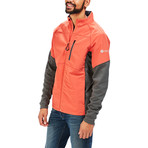 Men's Discovery Hybrid Jacket // Red Rock (XL)