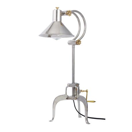 Berlin Table Lamp // Aluminum