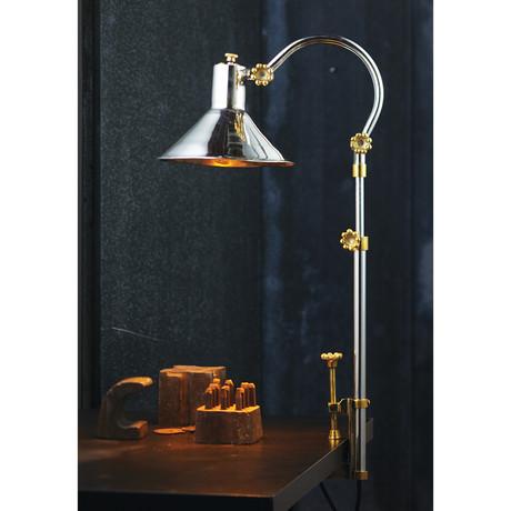 Berlin Clamp Lamp // Aluminum