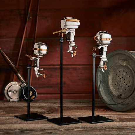 Outboard Motor Replica Set // Aluminum