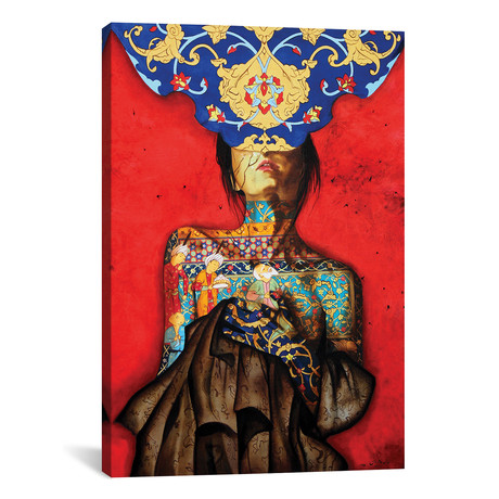 """Peace Lady Collection V // Alemeh Bagherian (12""""W x 18""""H x 0.75""""D)"""