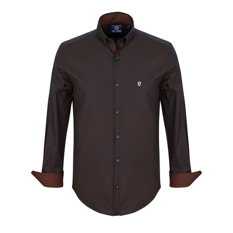 Joshua Dress Shirt // Burgundy (S)