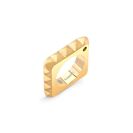 Punk Square Ring // Gold (6)