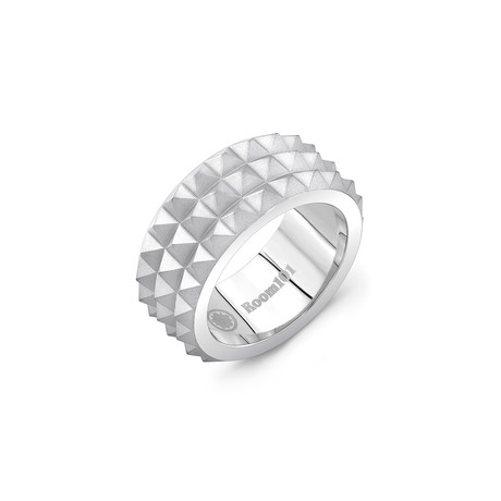 Spike Ring // Matte Stainless Steel (6)