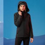 Women's Endeavour Jacket // Black Heather (M)