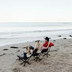 CLIQ CHAIR // The Bottle-Sized Portable Chair // Black