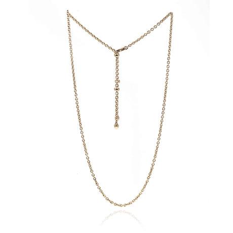 Bulgari 18k Yellow Gold B Zero Necklace