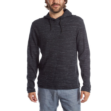 Andres Waffle Pullover // Black (S)
