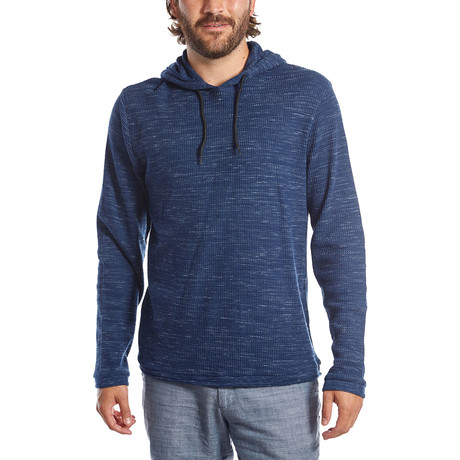 Andres Waffle Pullover // Navy (S)