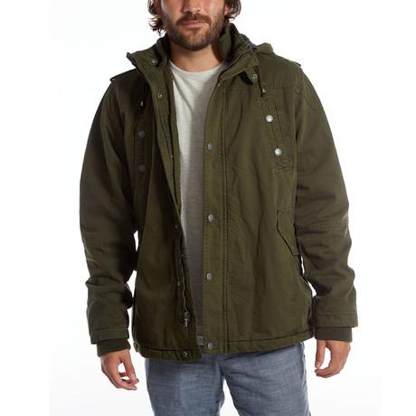 Zach Long Cotton Jacket // Army Green (S)