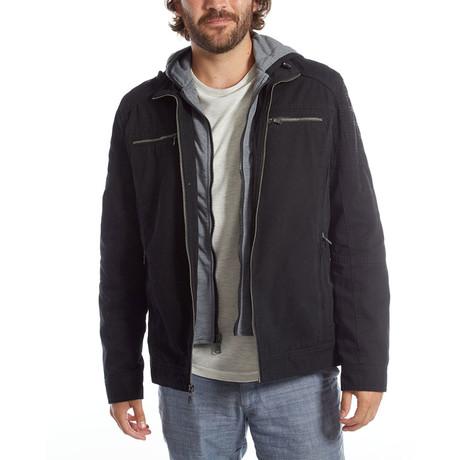 Kendrick Cotton Jacket // Black (S)