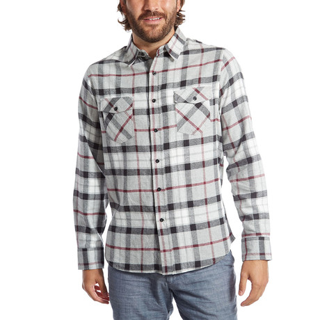 Gavin Flannel Shirt // Black (S)