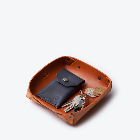 Catch All Tray // Cognac (Small)