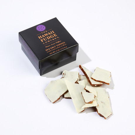 Toffee & Brittle Collection // White Chocolate Macadamia Nut Toffee // 1 lb