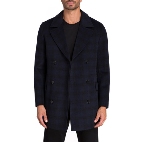 Seville Double Breasted Coat // Navy (S)