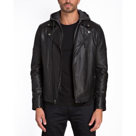 Barcelona Hooded Jacket // Black (S)