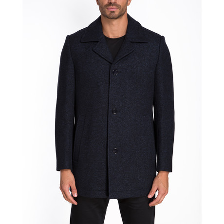 Gent Single Breasted Coat // Navy (S)