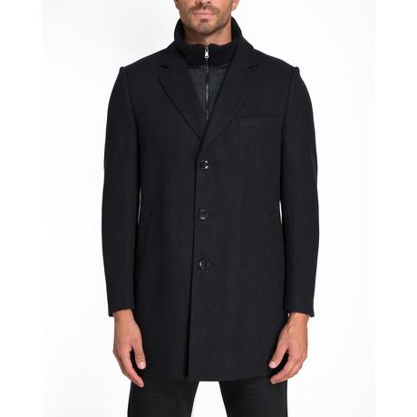 Reykjavik Single Breasted Coat // Black (S)