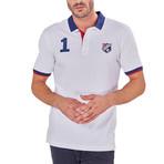 Stevie Short Sleeve Polo // White (S)