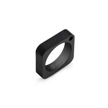 Square Ring // Black Titanium (6)