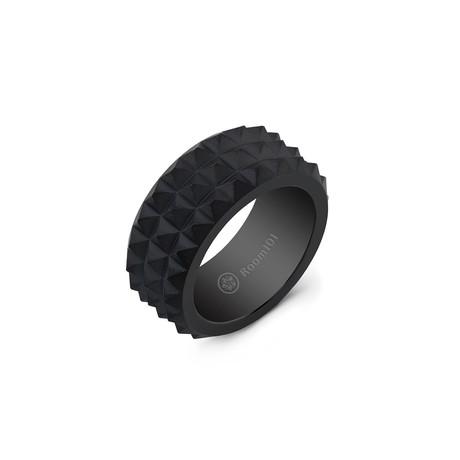 Spike Ring // Black Titanium (6)