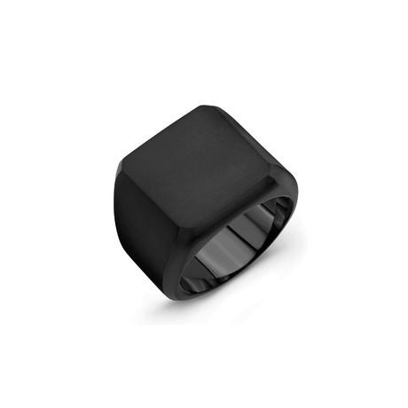 Block Ring // Black Titanium (6)