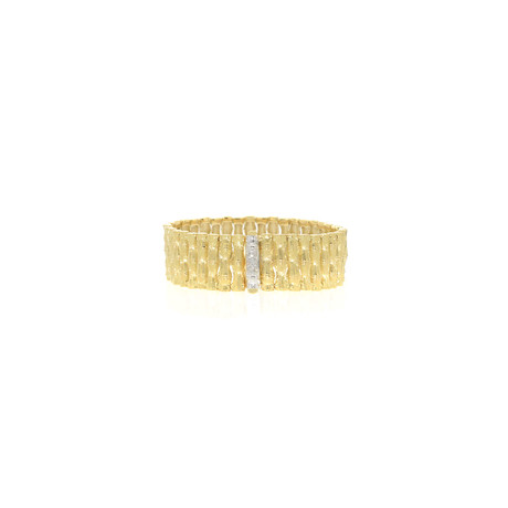 Roberto Coin 18k Two-Tone Gold Diamond Bracelet I