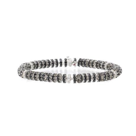 Roberto Coin 18k White Gold Diamond Bracelet