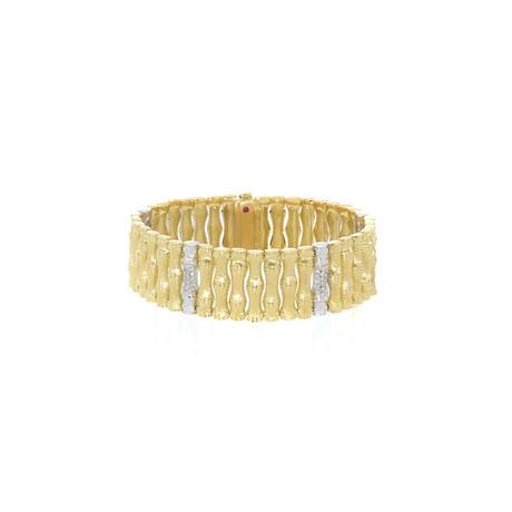 Roberto Coin 18k Two-Tone Gold Diamond Bracelet II
