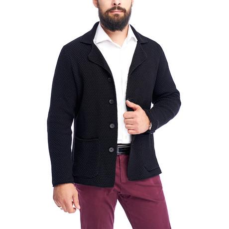 Button Up Jacket // Black (S)